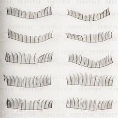 Eye's Chic - Professional Eyelashes #3-830 (10 pairs)