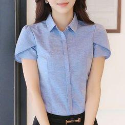 Violette - 短袖衬衫