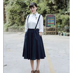 Moricode - Midi Jumper Skirt