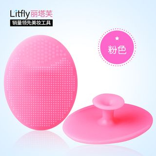 Litfly - Facial Massage Cleansing Tool (Pink)
