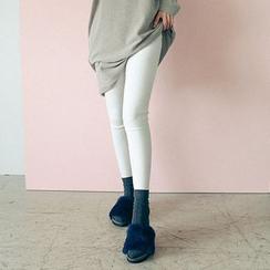 Seoul Fashion - Plain Leggings