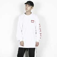 Remember Click - Long-Sleeve Printed T-Shirt