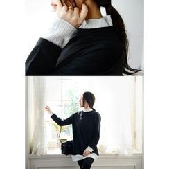 DEEPNY - Frill-Layered Pullover