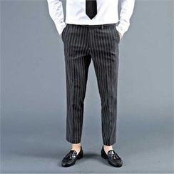 THE COVER - Striped Dress Pants