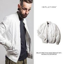 Newin - 纯色拉链外套