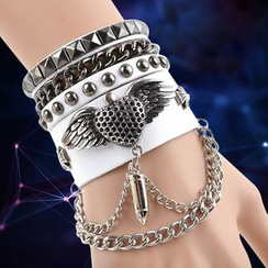 Trend Cool - Layered Chained Bracelet