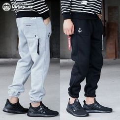 Esflow - 束脚哈伦裤