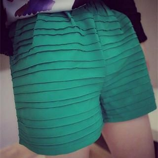 DreamyShow - Accordion Pleat Shorts
