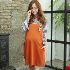 GESTA - Maternity Lettering Jumper Skirt
