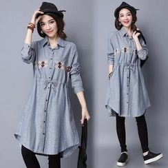 Fancy Show - Embroidered Shirtdress