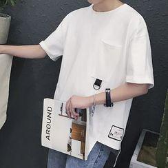 Soulcity - 纯色短袖T恤