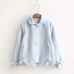 Musume - Bow-Accent Button Jacket