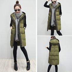 Romantica - Hooded Padded Vest