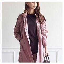 MASoeur - Snap-Button Long Jacket
