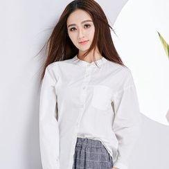 Eferu - 纯色衬衫