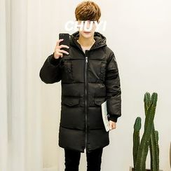 Chuoku - Hooded Padded Coat