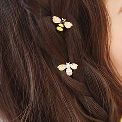 Seoul Young - Rhinestone Bee Hairpin