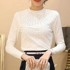 Caroe - Embellished Long-Sleeve Top