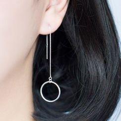 A'ROCH - Circle Threader Earrings