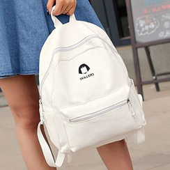 I.O.U - Print Canvas Backpack