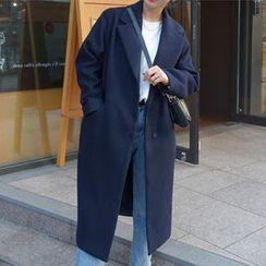 謳若緹 - 長款針織大衣