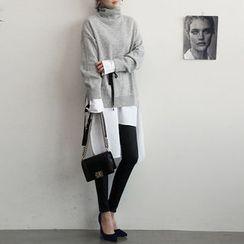 NANING9 - Wool Blend Turtleneck Sweater