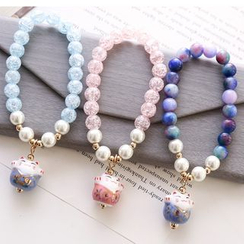 Coolgirl - Cat Beaded Bracelet