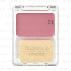 CEZANNE - Lasting Cheek (#01 Rose)