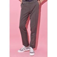 Ohkkage - Flat-Front Dress Pants