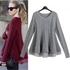Hibisco - Ruffle Sweater