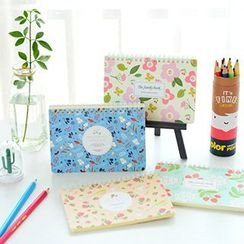 Show Home - Floral Print Account Book (S)