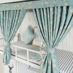 MOD HUT - Printed Curtain