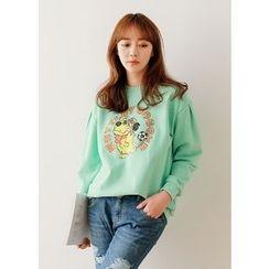 J-ANN - Printed Sweatshirt