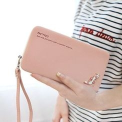 Rinka Doll - Faux Leather Clutch