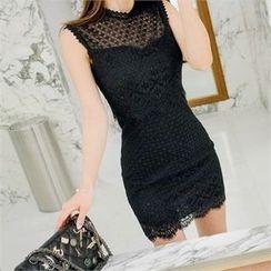 Babi n Pumkin - Zip-Back Laced Dress