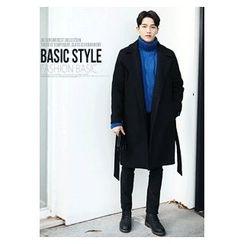 HOTBOOM - Wool Blend Coat