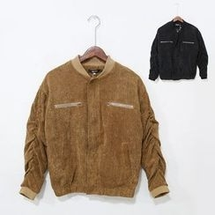 Mr. Cai - Corduroy Bomber Jacket