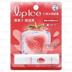 Mentholatum - Lipice Lip Balm SPF 15 (Starwberry)