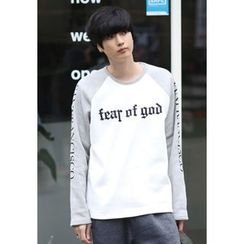 PLAYS - Raglan-Sleeve Printing T-Shirt