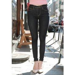 MyFiona - Stitched Skinny Jeans
