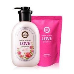 HAPPY BATH - Love Set: Body Wash 500g + Refill 250g