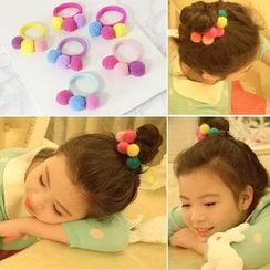 Peneme - Kids Pompom Detail Hair Tie