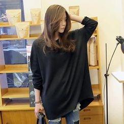 REDOPIN - Oversized Drop-Shoulder Pullover