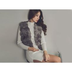UUZONE - Faux-Fur Vest