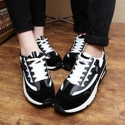 Easy Steps - Contrast-Color Sneakers