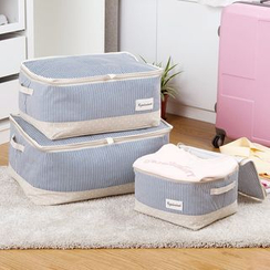 MyHome - Striped Garment Organizer