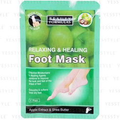 Beauty Formulas - Relaxing and Healing Foot Mask
