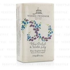 Woods Of Windsor - Blue Orchid and Water Lily Fine English Soap