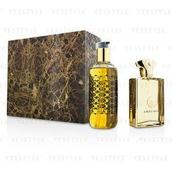 Amouage - Gold Coffret: Eau De Parfum Spray 100ml/3.4oz + Bath and Shower Gel 300ml/10oz