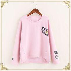 Fairyland - Letter Dip Back Sweatshirt